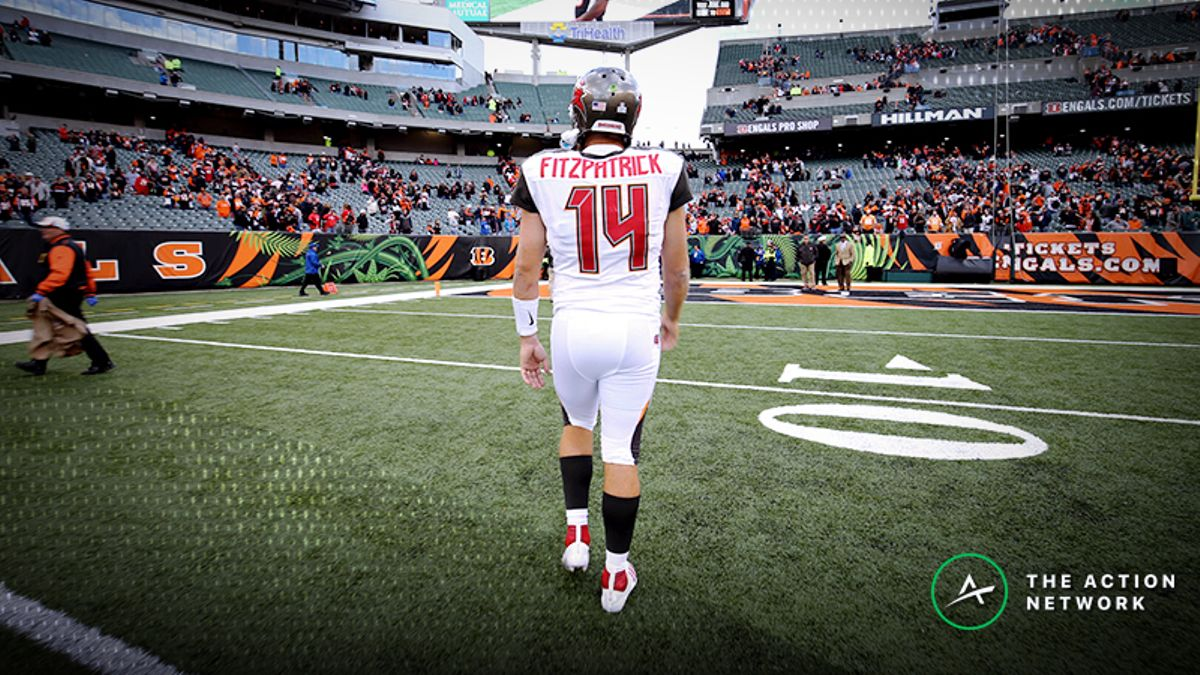 Fantasy Football QB Report: Stream Ryan Fitzpatrick, Plus Other Week 9 Notes article feature image