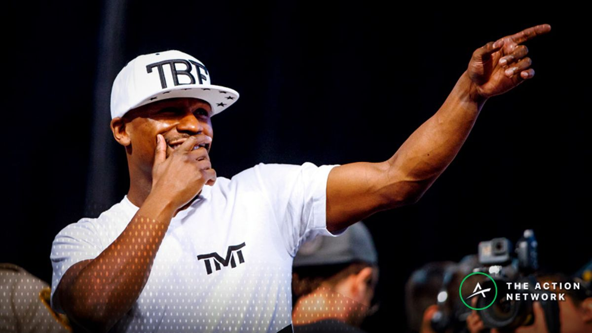 Floyd Mayweather Heavily Favored in Potential Bout With Khabib Nurmagomedov article feature image