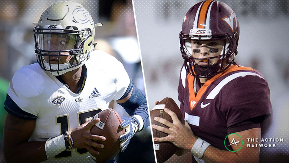 Pros Betting Georgia Tech-Virginia Tech, Two Other Thursday Night Games article feature image