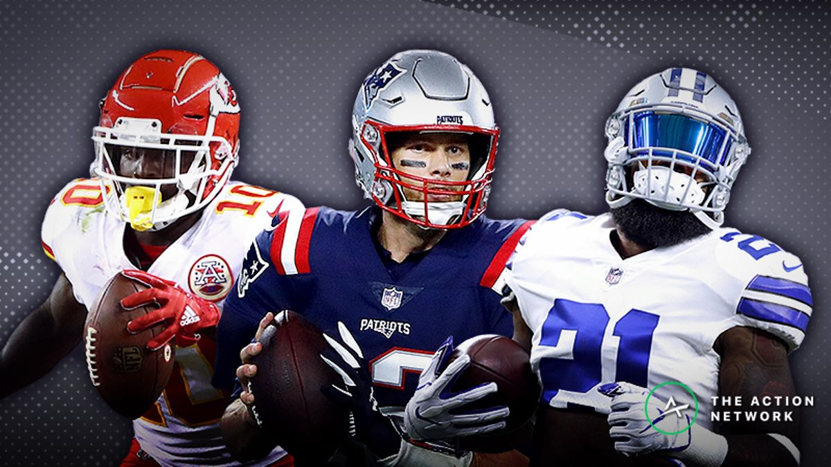 NFL Week 6 Cheat Sheet: Betting, Fantasy Football, More article feature image