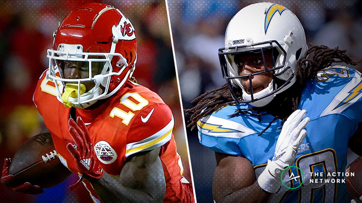 Week 9 NFL Injury Report: Tyreek Hill, Melvin Gordon, More Fantasy Football Starters to Monitor article feature image