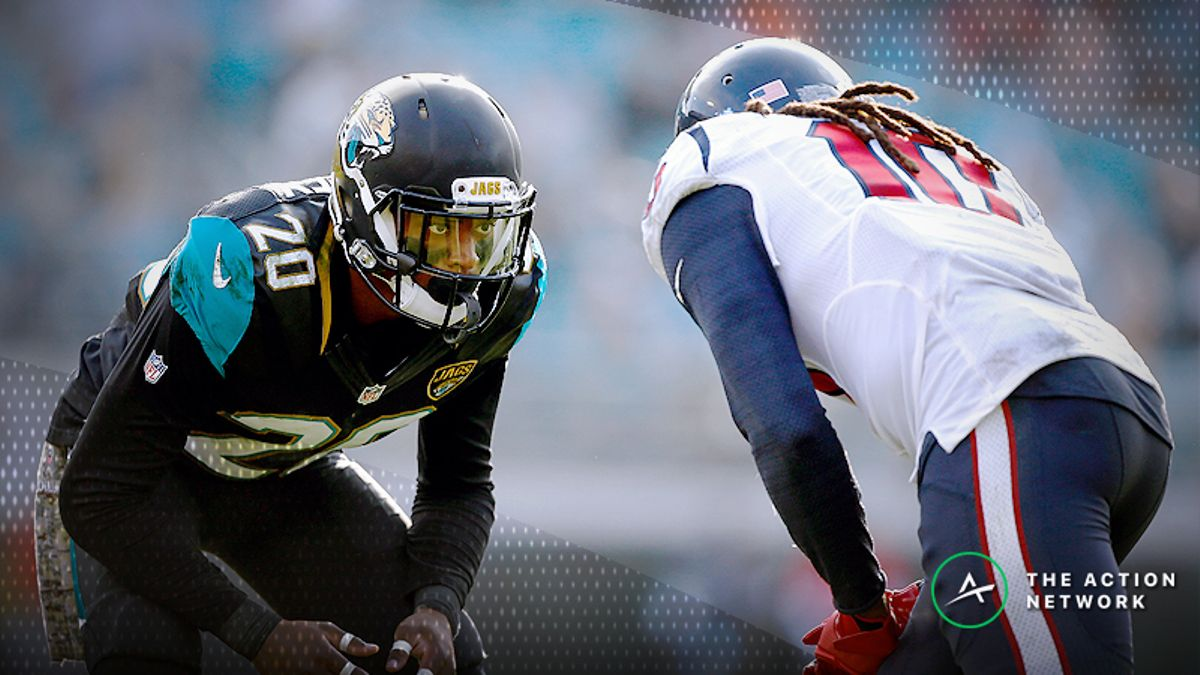 NFL Week 7 WR/CB Matchups: DeAndre Hopkins and Jalen Ramsey Meet Again, More Shadow Dates article feature image