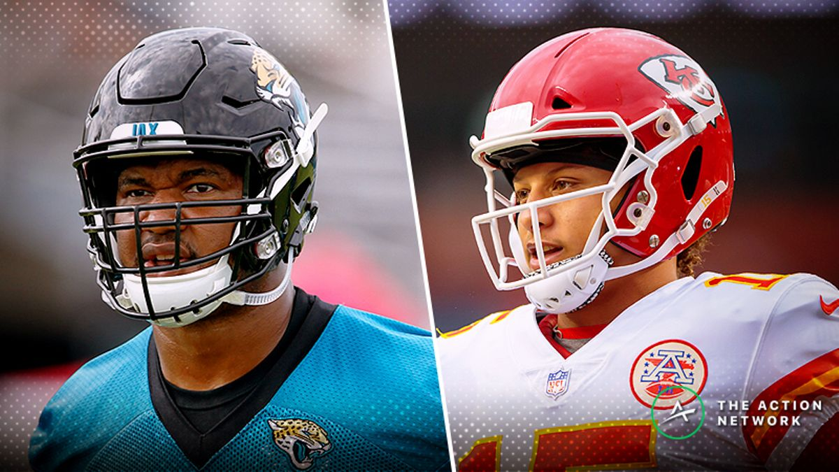 Jaguars-Chiefs Betting Preview: Will K.C. and Mahomes Stay Hot? article feature image