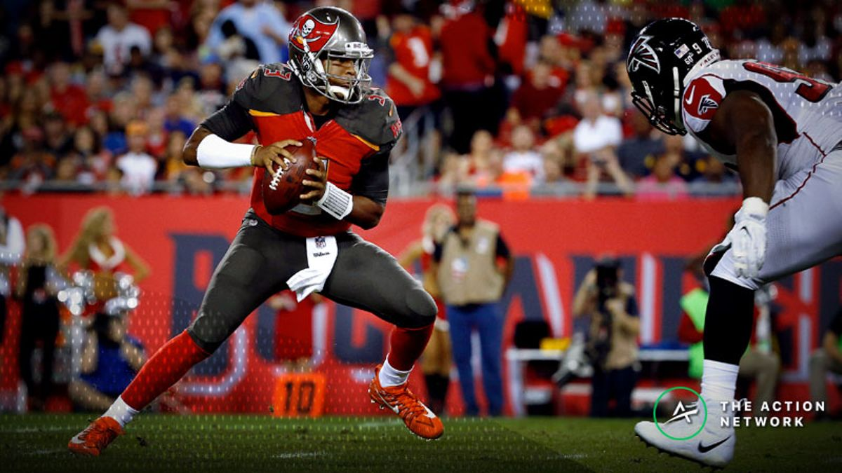 Bucs-Falcons Betting Preview: Trust Jameis Winston in His First Start of the Season? article feature image