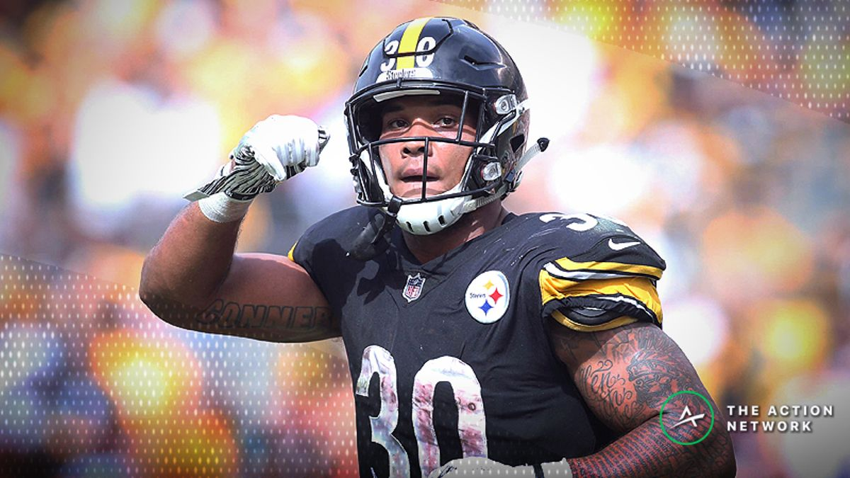 Fantasy Football RB Report: James Conner Set to Feast, Plus Week 5's No. 1 and Matchup Downgrades article feature image