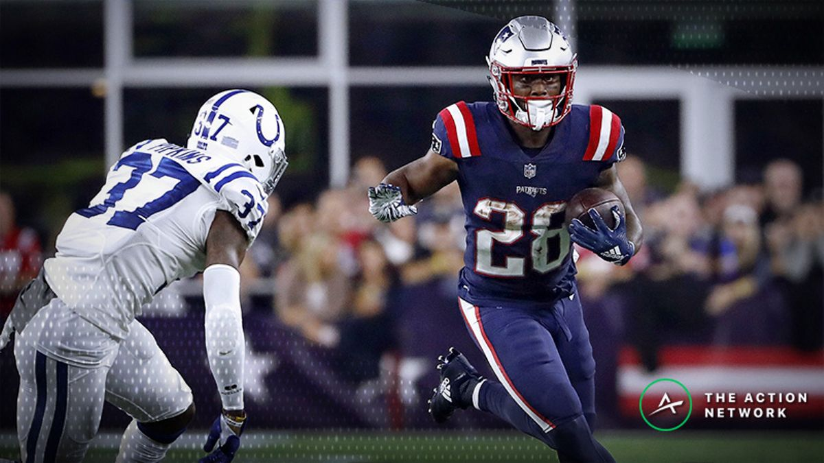 Fantasy Football RB Report: James White in a Prime Spot, Plus Week 6's No. 1 Running Back article feature image