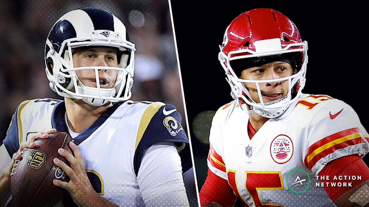 Early Chiefs-Rams Odds: Vegas Opens Record-Setting Over/Under in Mexico City article feature image