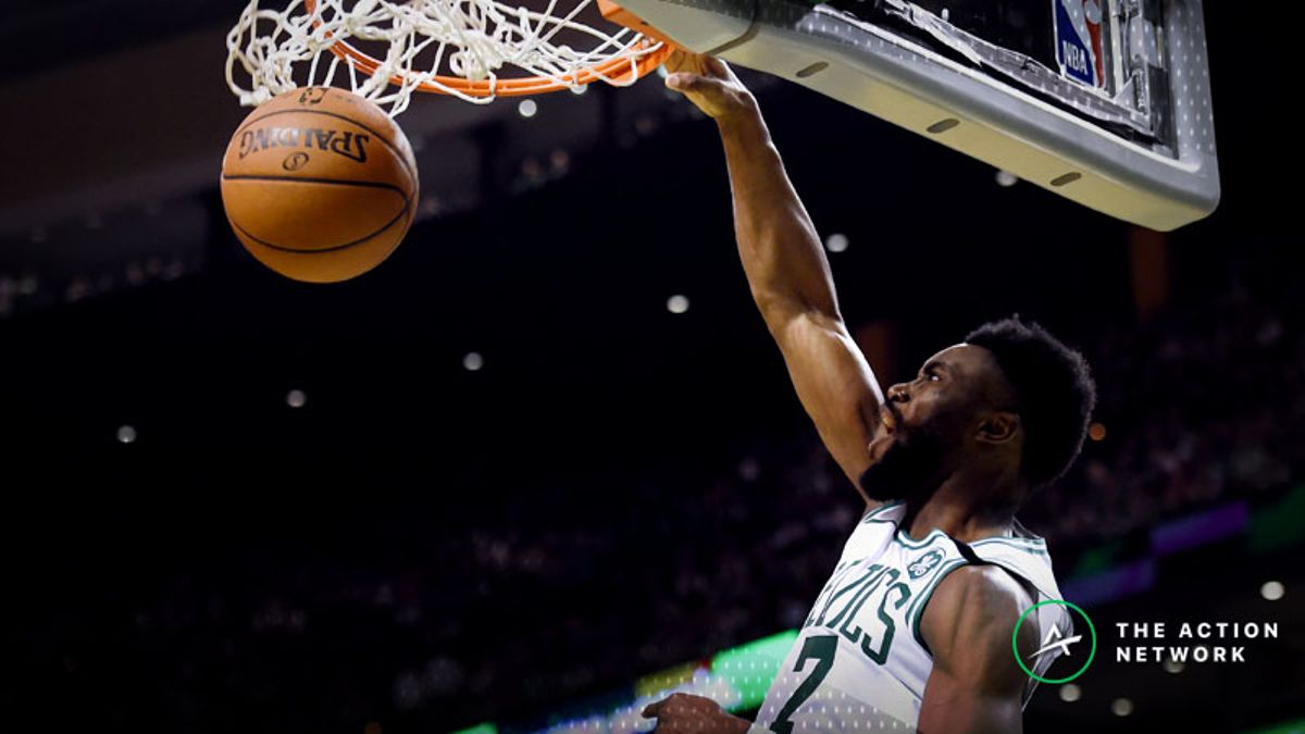 Saturday's Best NBA Player Props: Betting Jaylen Brown Points, More article feature image