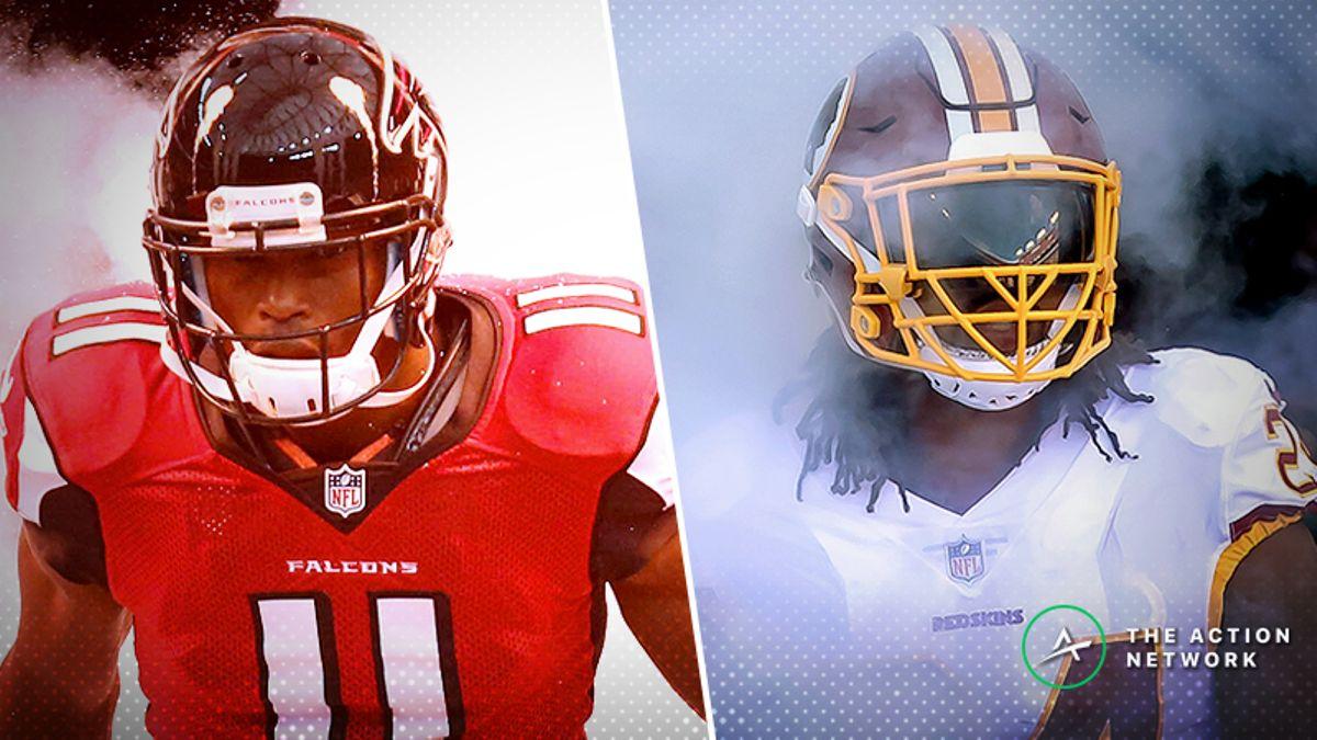 NFL Week 9 WR/CB Matchups: Will Julio Jones Finally Score vs. Josh Norman? article feature image