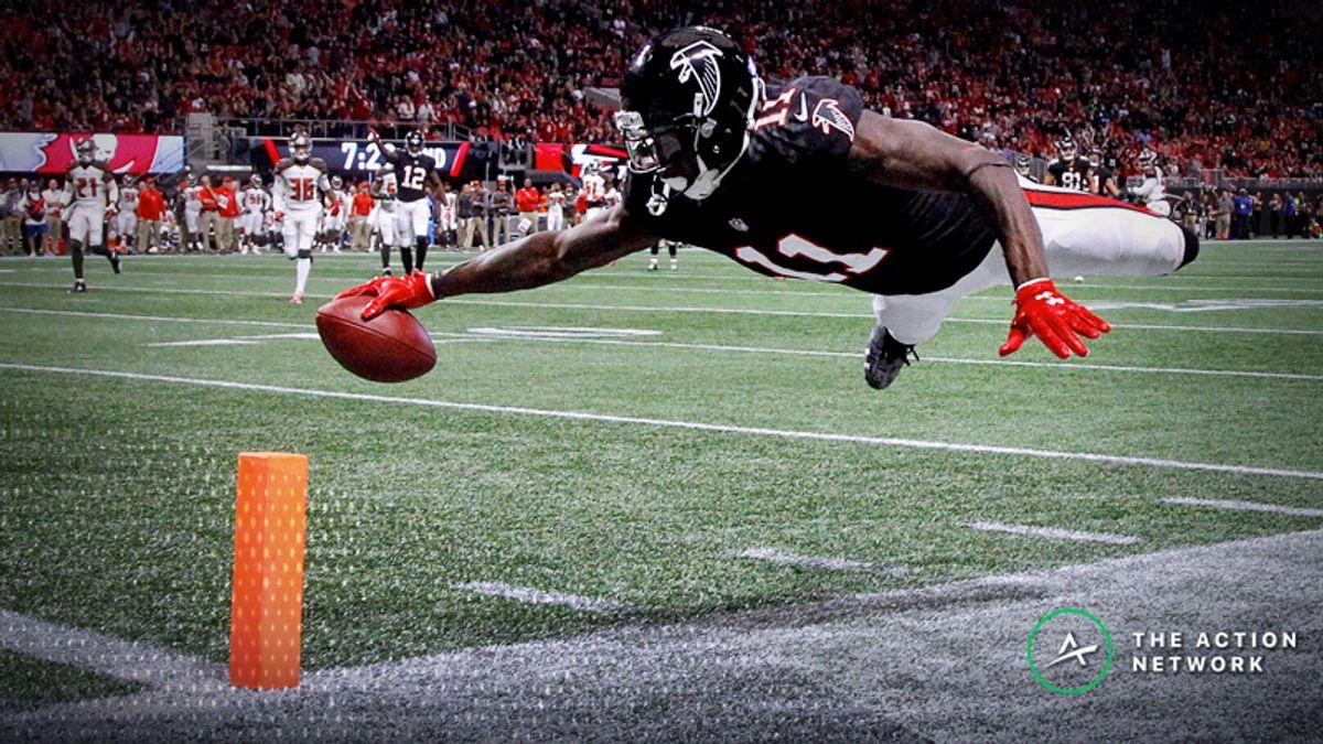 NFL Week 6 Fantasy WR Breakdown: Julio Jones Will Score a Touchdown (Probably?) article feature image