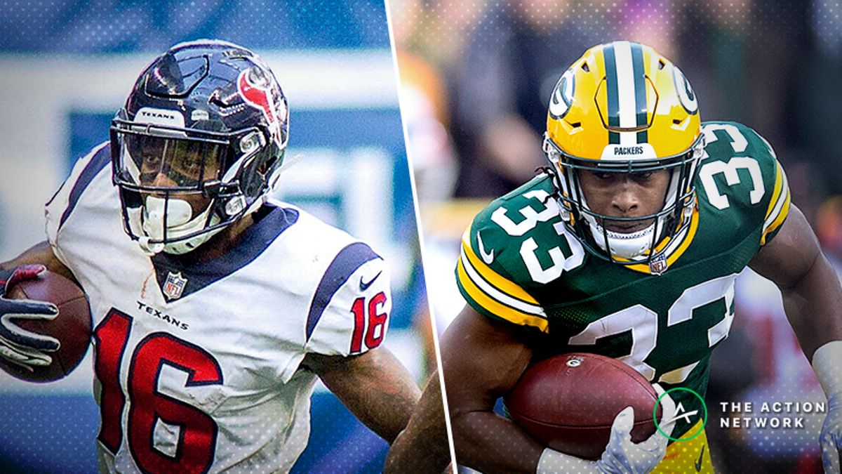 Nfl Week 6 Fantasy Football Start Or Sit Mailbag Buy Keke Coutee Sell Aaron Jones The Action Network