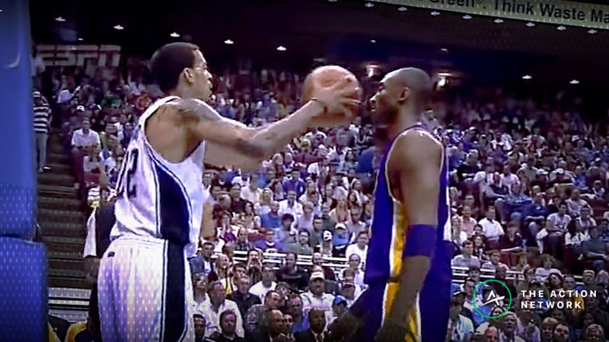 Wob: Investigating the Infamous Kobe Bryant/Matt Barnes Flinch Play article feature image