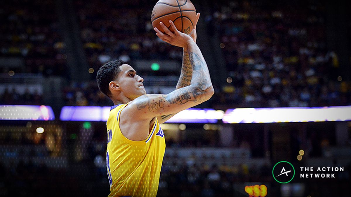 Wednesday's Best NBA Player Props: Betting Kyle Kuzma Points, More article feature image
