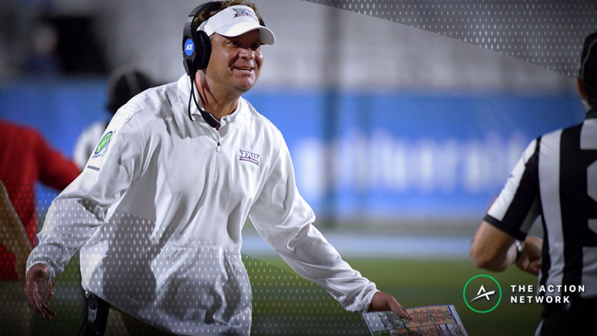 Sharps Targeting Friday's Louisiana Tech-Florida Atlantic Matchup article feature image