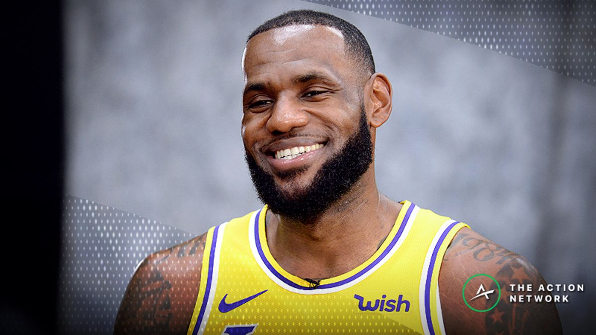 The LeBron James Betting Guide: When to Buy or Fade the King article feature image