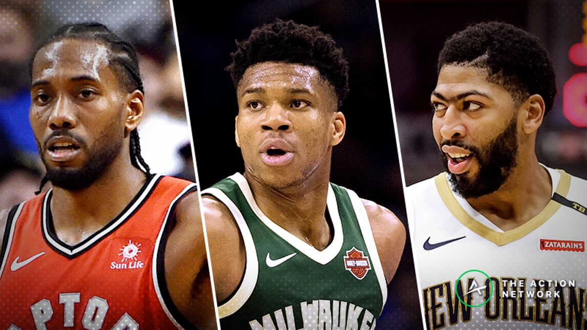 NBA Injury Report: Betting, DFS Impact of Kawhi, Giannis and Anthony Davis Missing Monday's Games article feature image