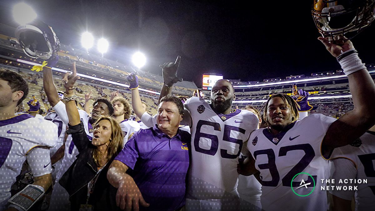 Alabama-LSU Betting Odds Moved by Early Sharp Action article feature image