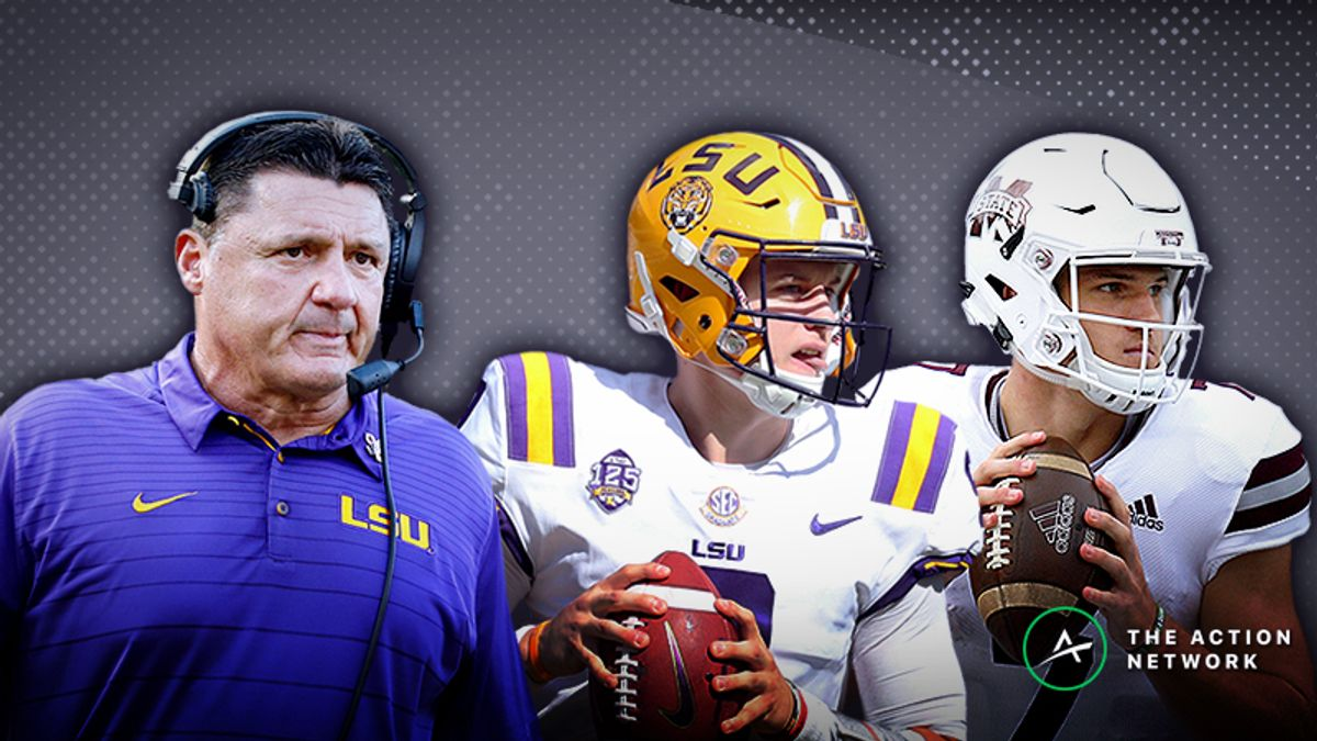 LSU-Mississippi State Betting Guide: Time to Fade the Tigers? article feature image