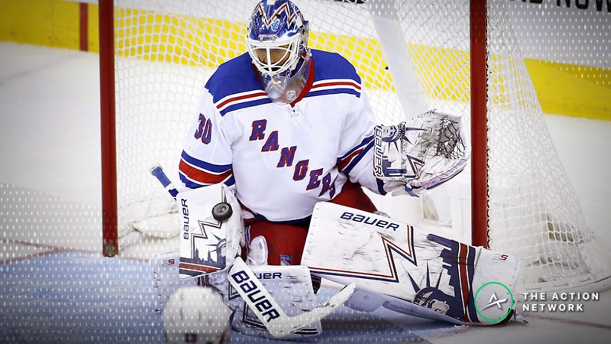 Top NHL Prop Bets for Tuesday: Henrik Lundqvist Over/Under 32.5 Saves? article feature image