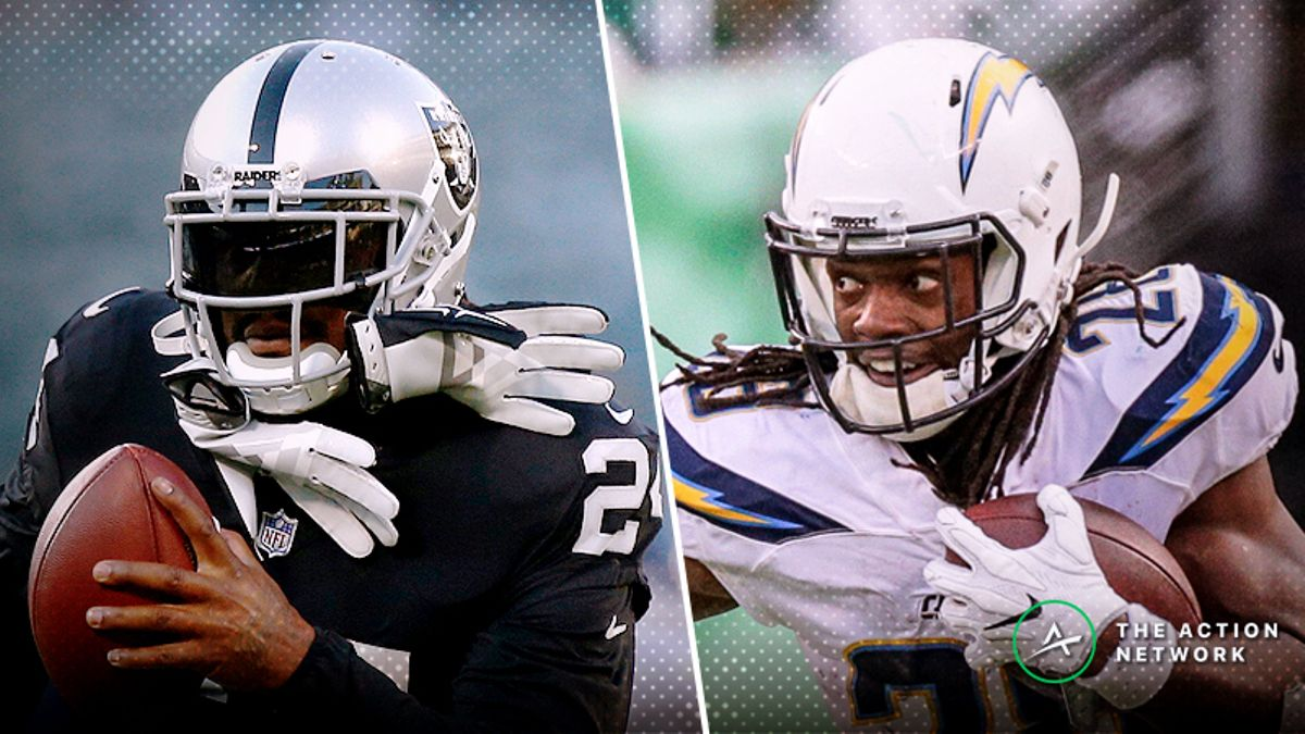 Raiders-Chargers Betting Preview: Will Another Bolts Game Going Over the Total? article feature image