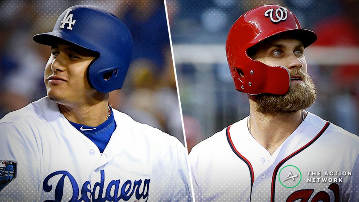 MLB Free Agency Odds: Phillies Favored to Land Bryce Harper, Manny Machado article feature image