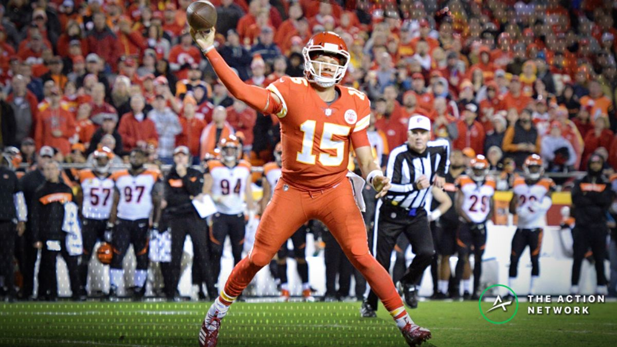 Week 9 Player Props: Patrick Mahomes Over/Under 3.5 Touchdowns? article feature image