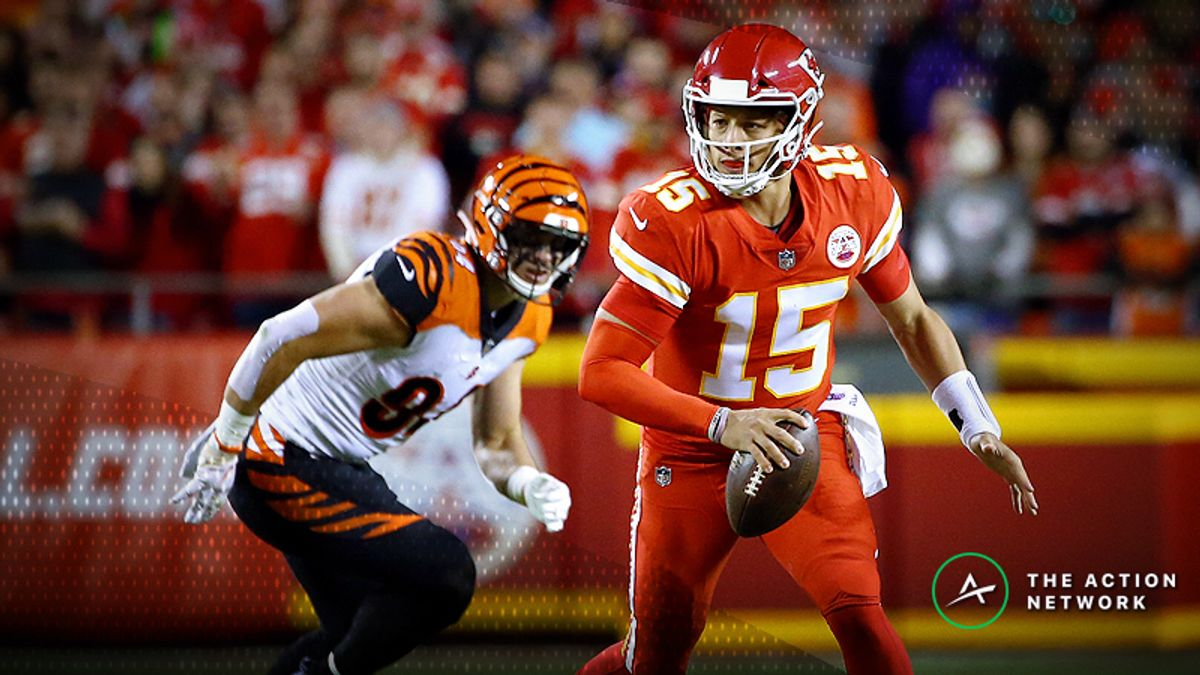 Updated NFL MVP Odds: Mahomes the Betting Favorite Once Again article feature image