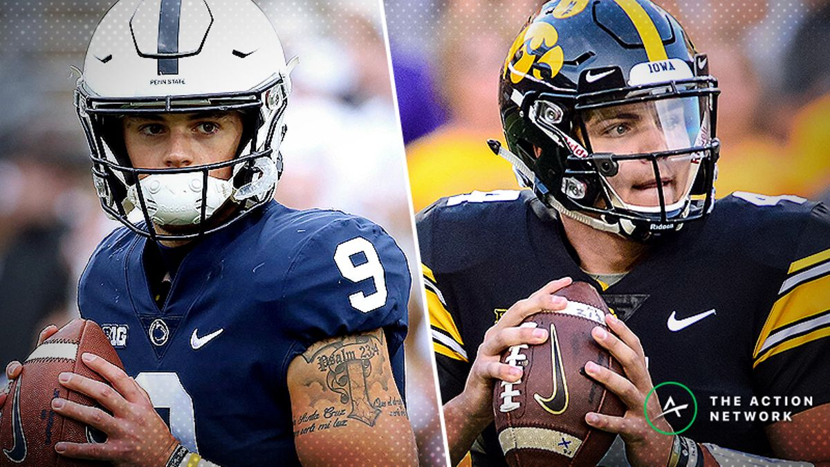 Penn State-Iowa Betting Guide: Buy Low on the Nittany Lions? article feature image