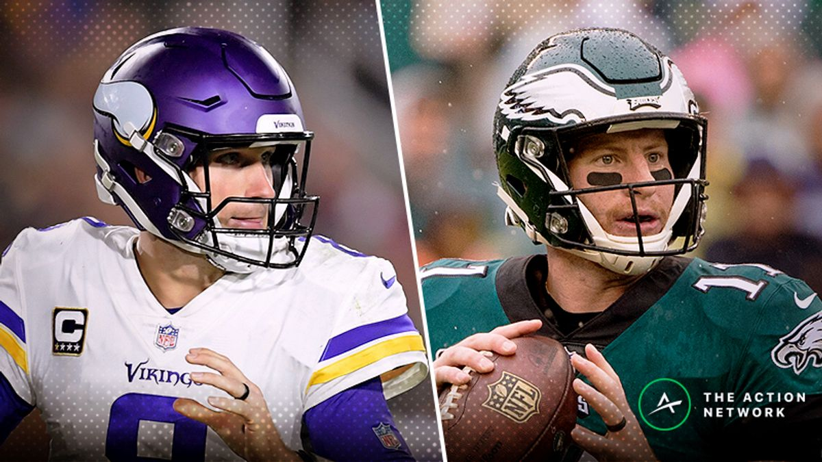 Vikings-Eagles Betting Preview: Will Minnesota Get Revenge for NFC Title Game? article feature image