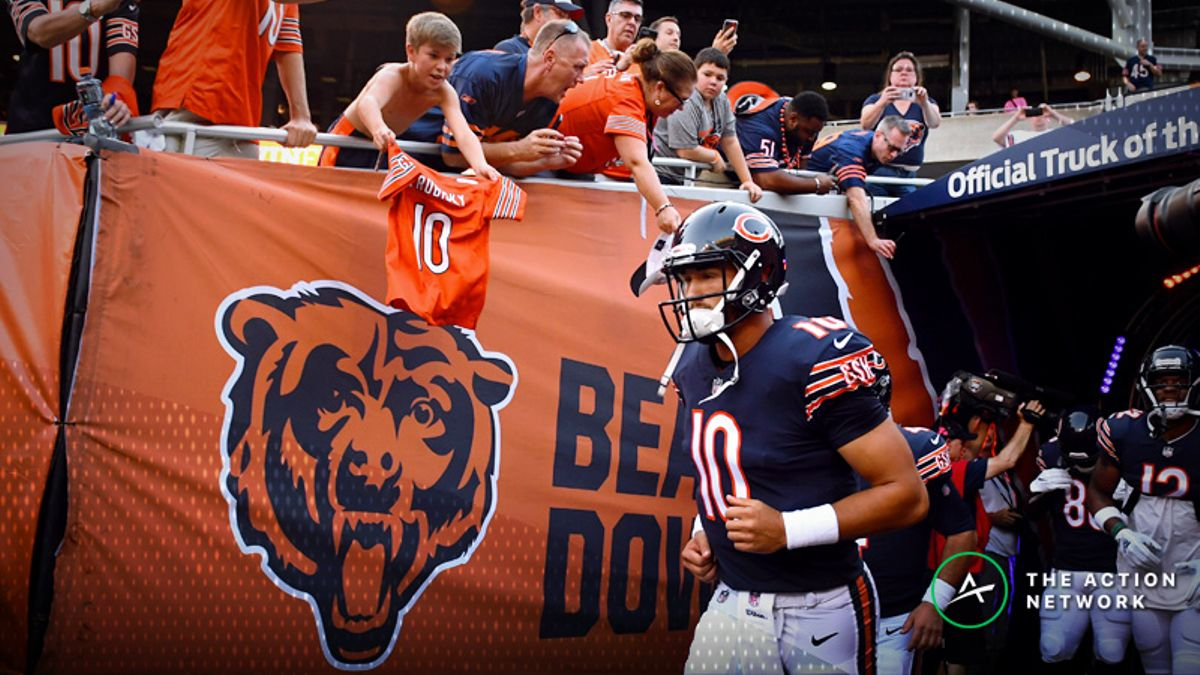 NFL Sharp Report: Pros Betting Patriots-Bears, Two Other Week 7 Games article feature image