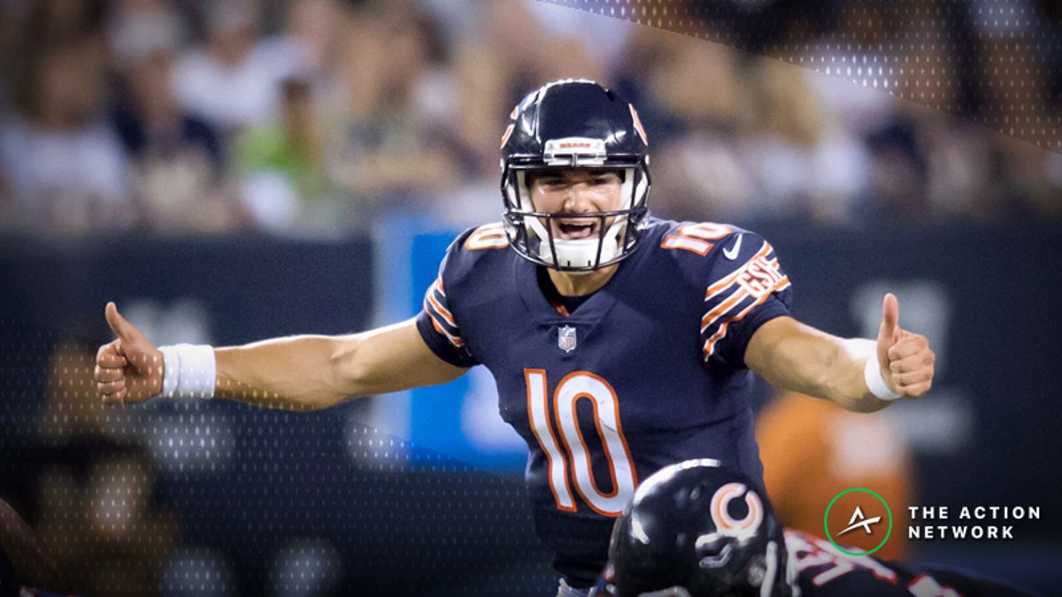 Mitchell Trubisky Injury Update Finally Moves Bears-Lions Betting Line article feature image