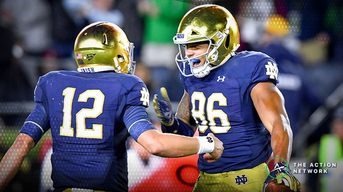 National Championship Odds: Irish Back On the Rise After Week 5 article feature image