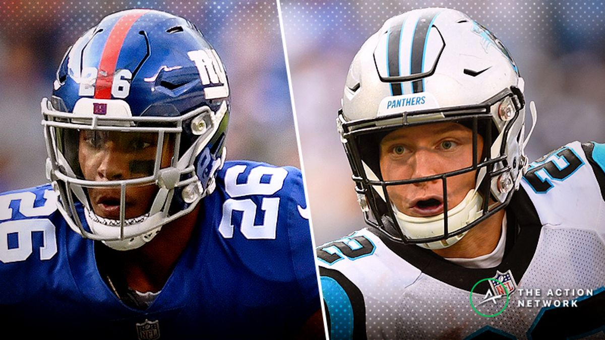 Giants-Panthers Betting Preview: Can Anyone Contain Christian McCaffrey? article feature image