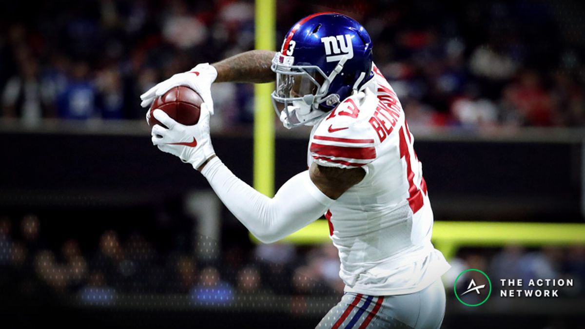Koerner's Week 8 Fantasy Football WR Tiers: Can You Trust Odell Beckham vs. Redskins? article feature image
