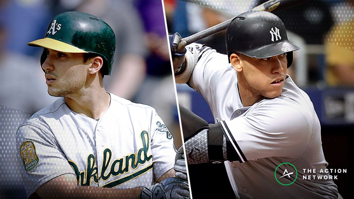Best A's-Yankees Player Props: Will Matt Olson Go Yard in Yankee Stadium? article feature image