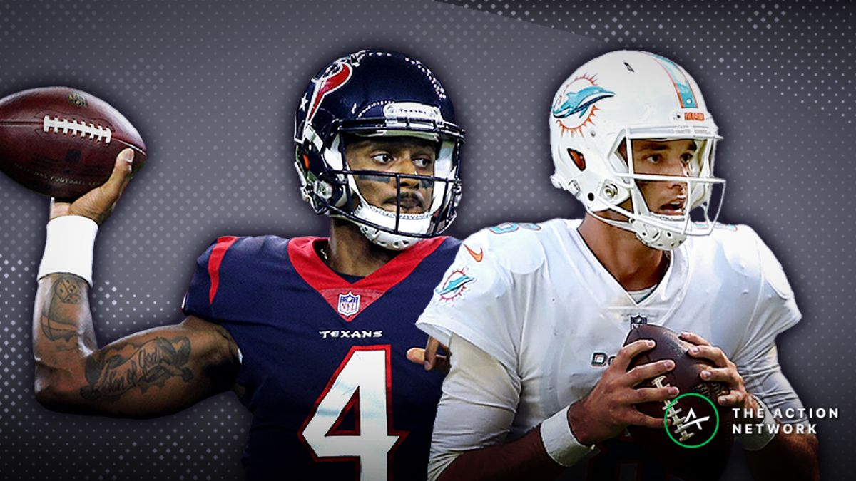 Dolphins-Texans TNF Betting Preview: Osweiler Will Be on the Run article feature image