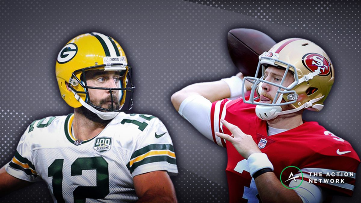 49ers-Packers MNF Betting Preview: Should You Trust Aaron Rodgers as a Big Favorite? article feature image