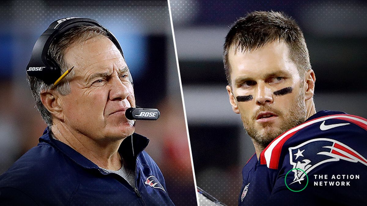 Pros And Joes On Opposite Sides of Patriots-Bills Spread article feature image