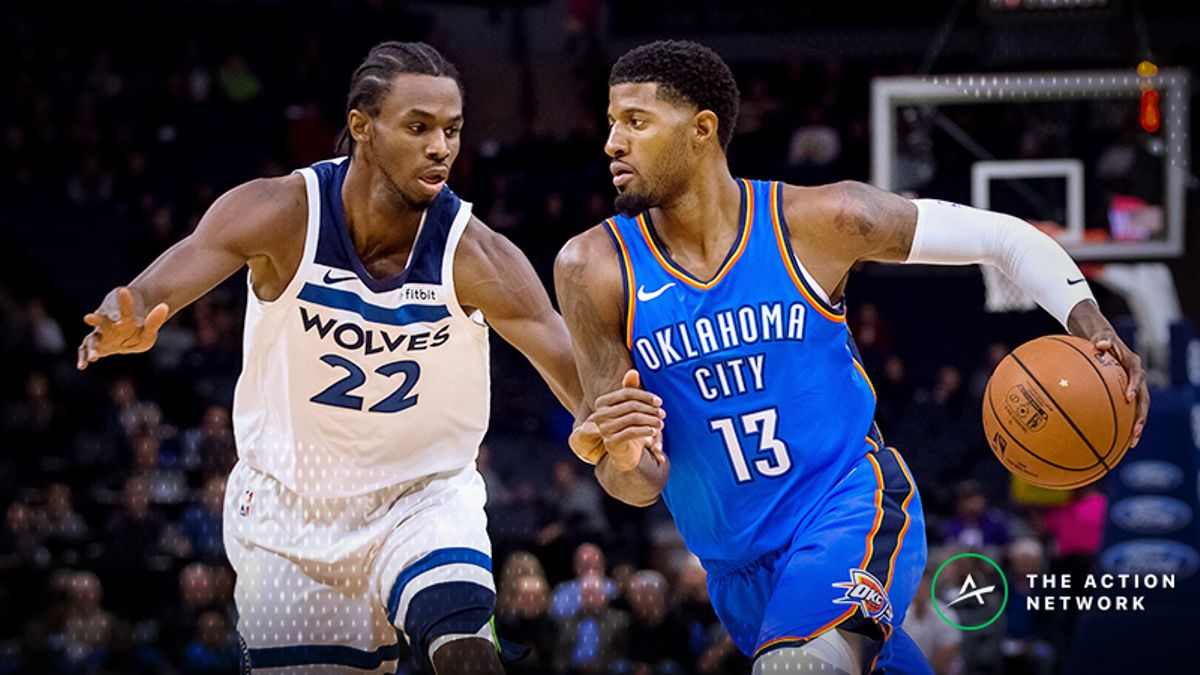 NBA Player Prop Bets: Paul George Over/Under 3.5 Assists, More for Opening Night article feature image