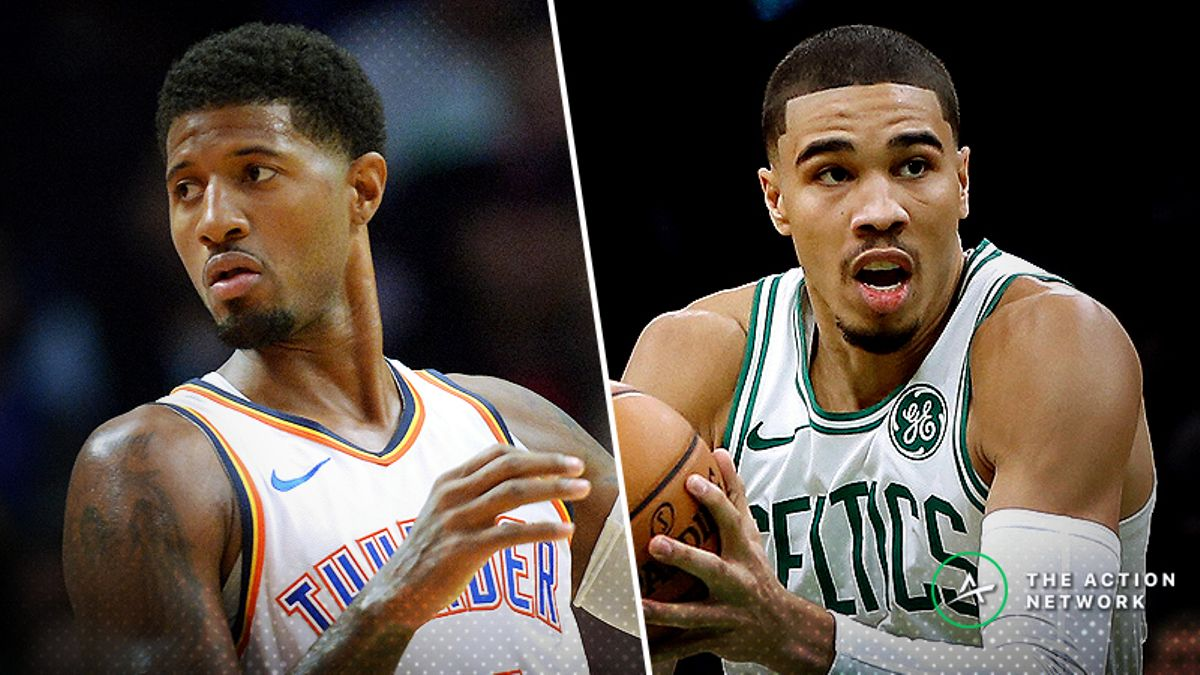 Celtics-Thunder Betting Preview: Which Offense Figures it Out First? article feature image