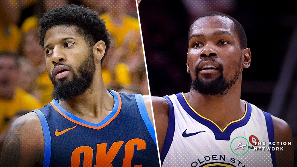 Thunder-Warriors Opening Night Betting Preview: Can OKC Function Without Westbrook? article feature image