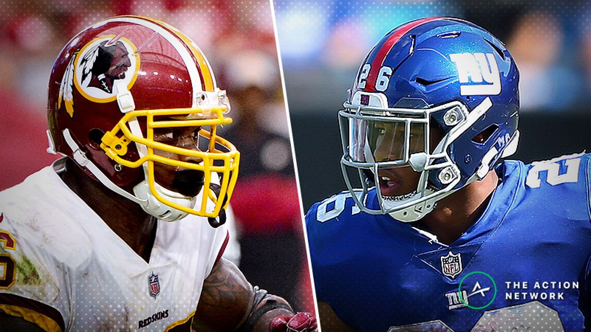 Redskins-Giants Betting Preview: Are the Rebuilding Giants Worth a Bet? article feature image