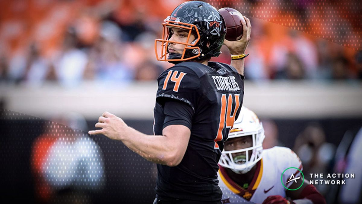 Duffel Bag Boy's Latest Winner, Plus Why Vegas Books Will Be Oklahoma State Fans on Saturday article feature image