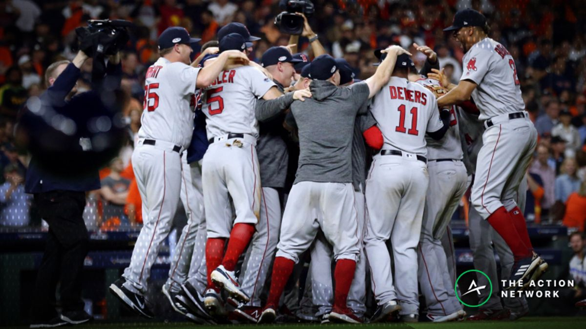 Red Sox-Dodgers 2018 World Series Odds article feature image