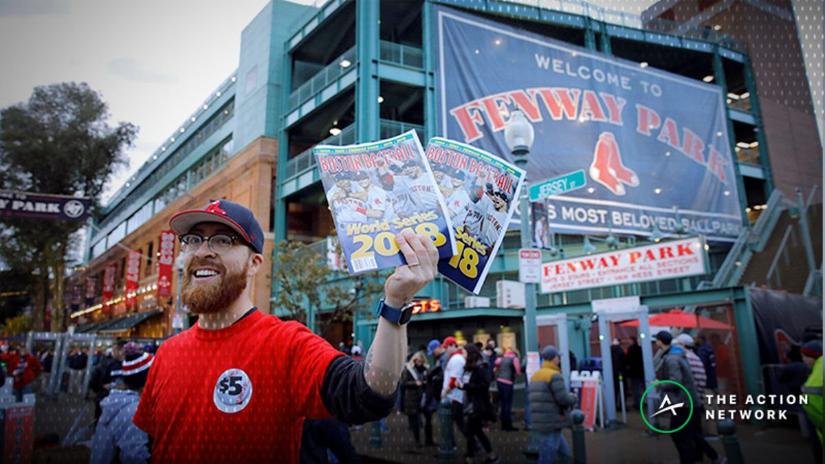 Bettor Places $500,000 Wager with DraftKings on Red Sox to Win World Series article feature image