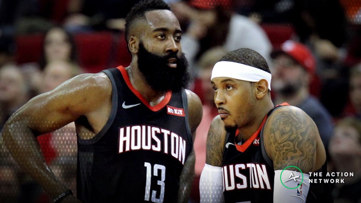 NBA Sharp Report: Pros Hitting Rockets-Lakers, 2 Other Saturday Games article feature image