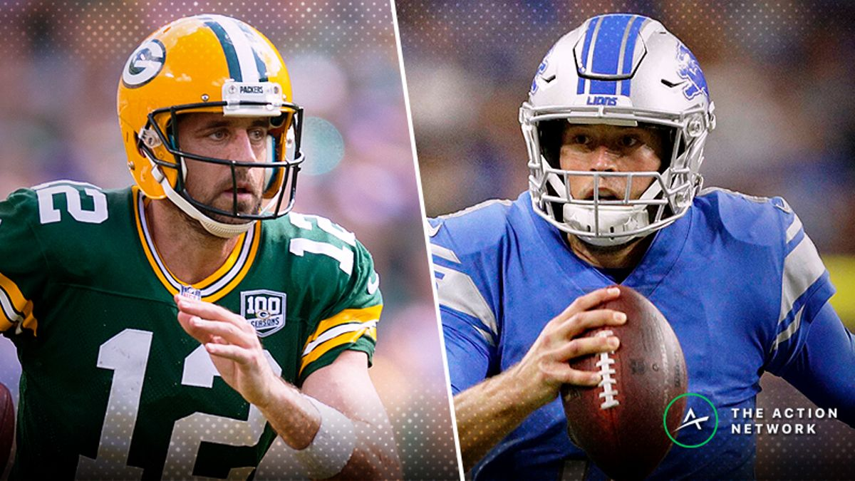 Packers-Lions Betting Preview: How to Find Value in This Pick 'Em article feature image