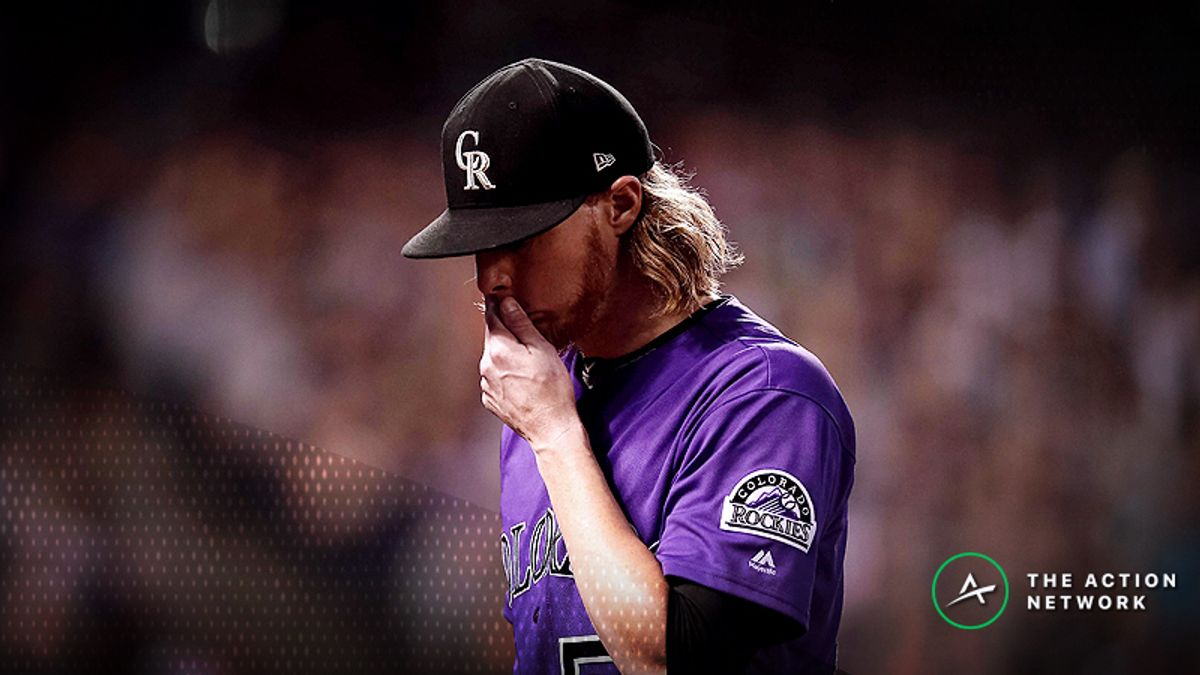 NL Wild Card Betting: Sharp Action Moving Rockies-Cubs Over/Under article feature image