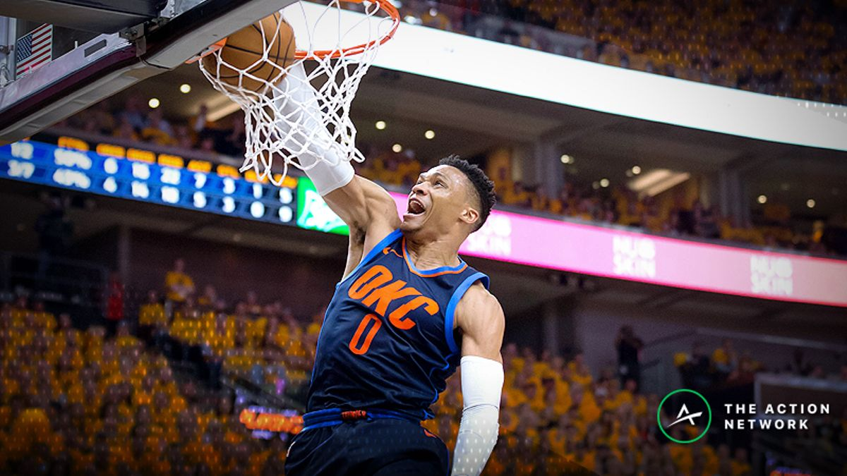 NBA Power Ratings vs. Spreads: How Much Is Westbrook Worth? article feature image
