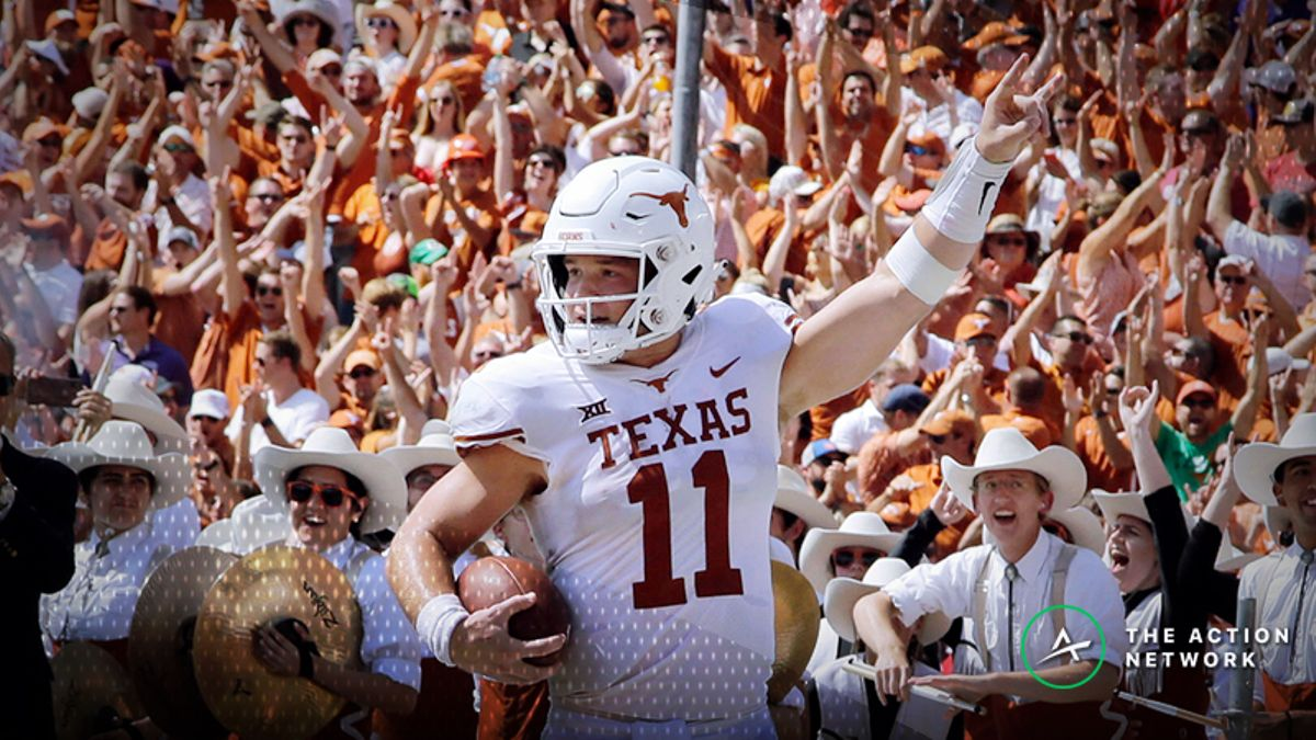 National Championship Odds: Texas Among Biggest Risers from Week 6 article feature image